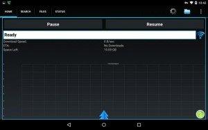 NZB360 alternative PowerNZB's Home screen image