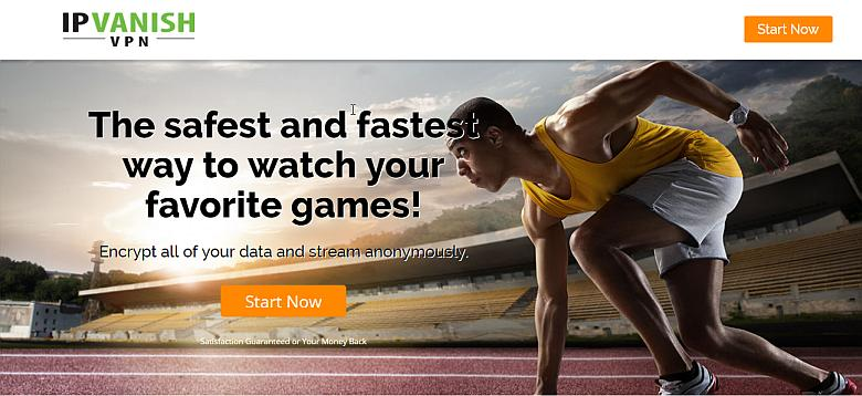 image of Best VPN to Watch Olympics online is IPVanish