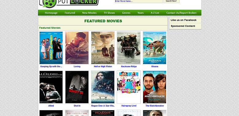 PutLocker streaming site image