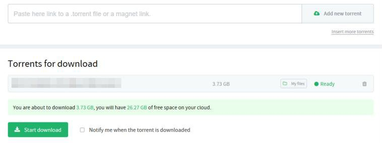 zBigz alternative Bitport cloud torrent image