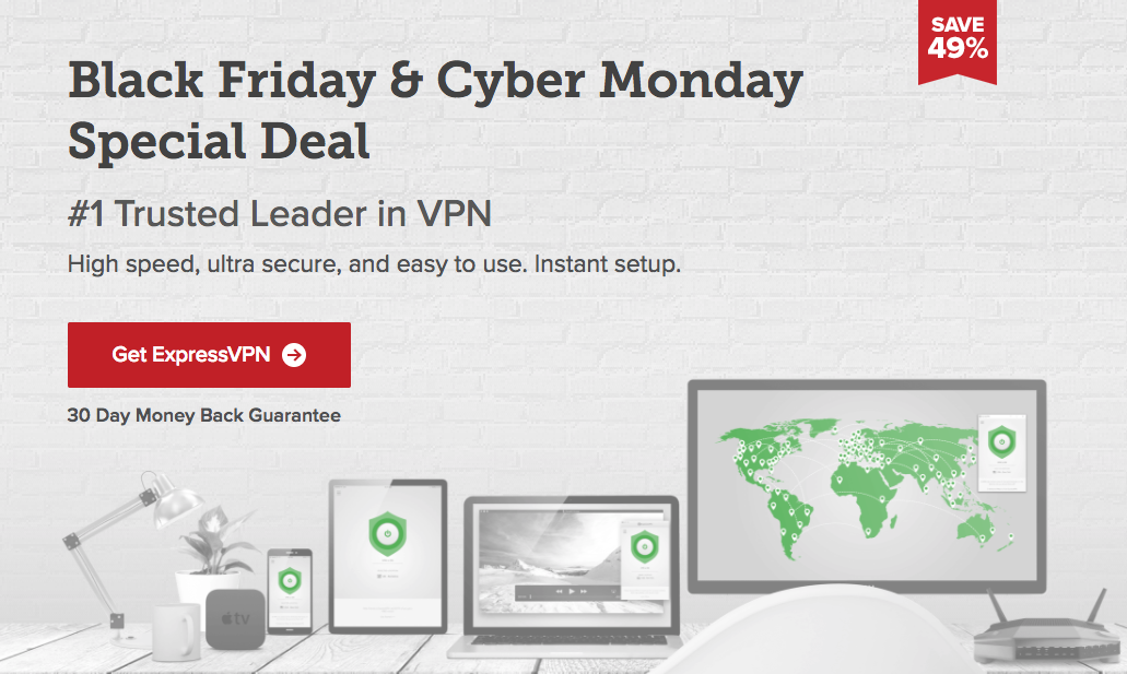 expressvpn black friday 2017 deal image