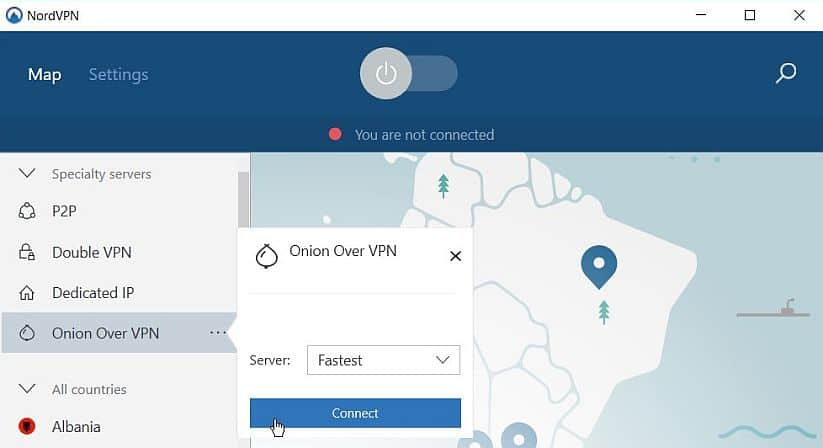 nordvpn løg over vpn image