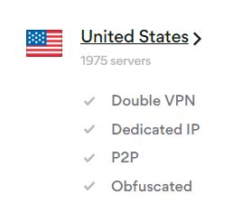 nordvpn usa servers image