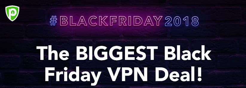 screenshot of PureVPN black friday deal