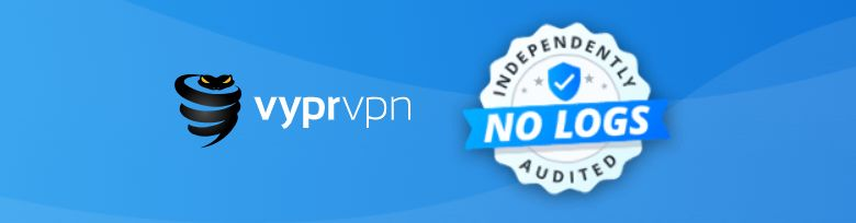 Screenshot of VyprVPN No Log audit certification