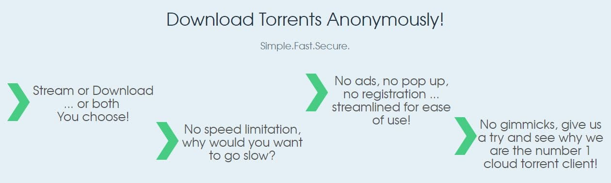 Best Cloud Torrent Providers 2019 (from Bitport to ZbigZ