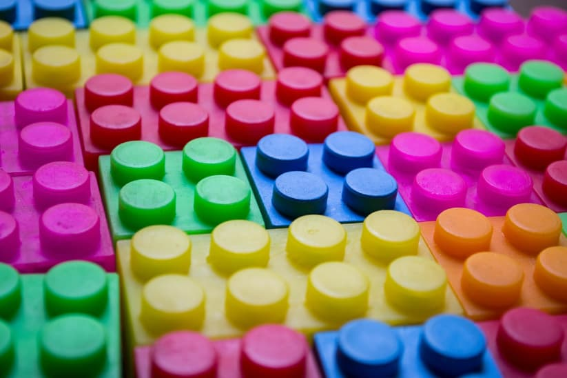 Photo of building blocks.