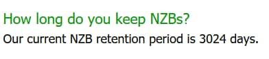 Screenshot of DOGnzb retention