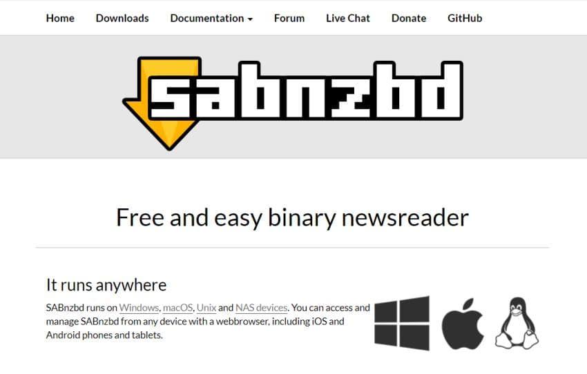 SABnzbd Newshosting Guide 1