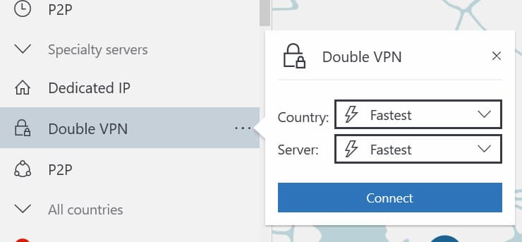 Dobbelt VPN