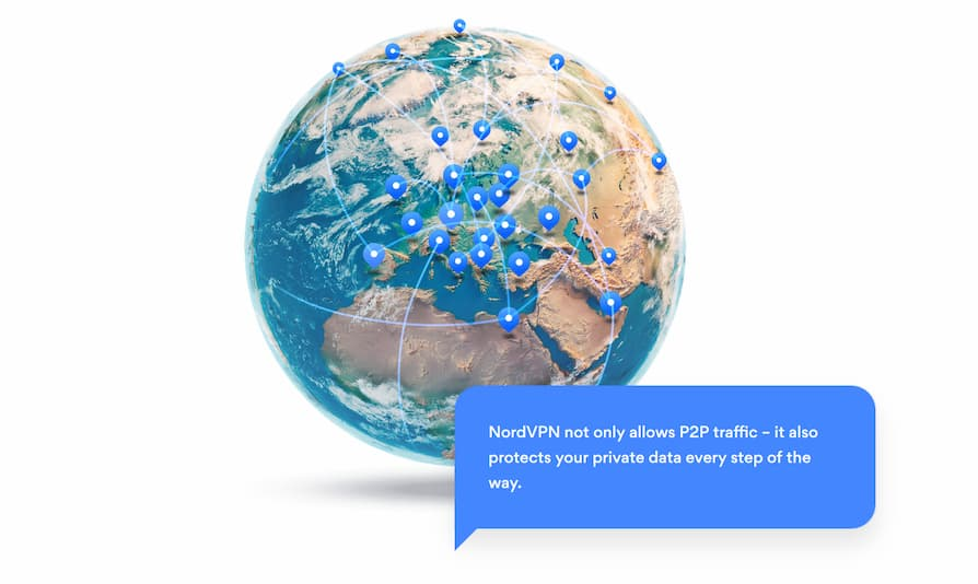 box: NordVPN is torrenting friendly
