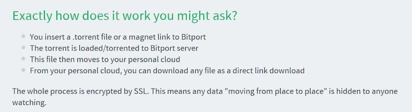 Bitport Basics