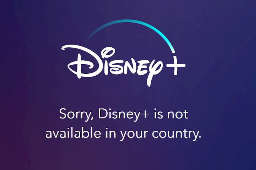 Disney+ plus Not Available in your Region