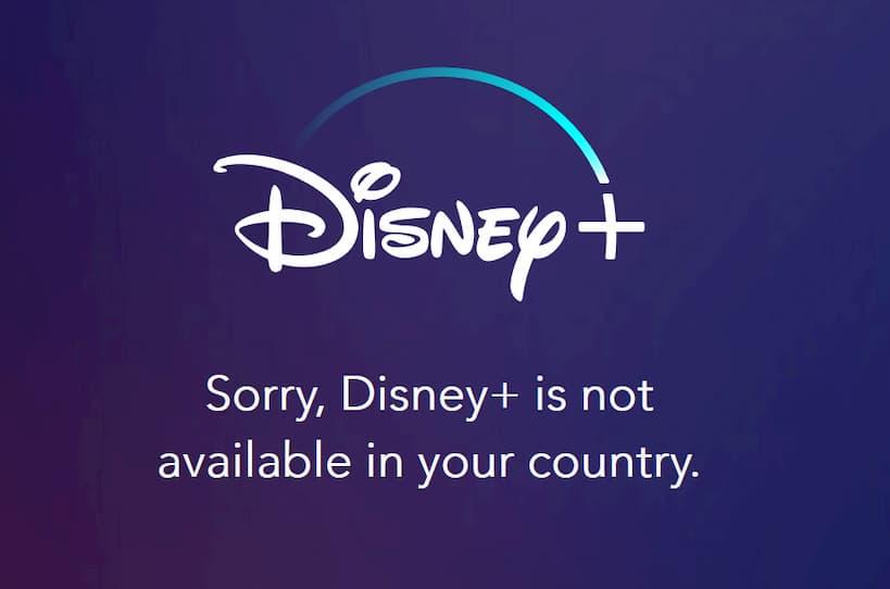 Disney + plus Bölgenizde Mevcut Değil