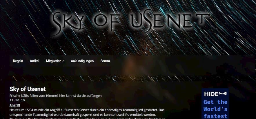 Sky of Usenet