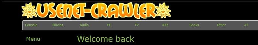 Usenet-Crawler screenshot from 2014